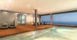Шикарные большие апартаменты с видом на море в Бенитачель