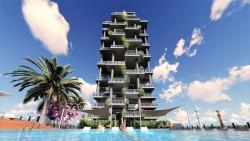 Новая квартира 82 кв.м. рядом с пляжем в Кальпе