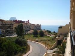 Великолепные апартаменты в городе Кальпе с видом на море