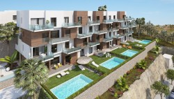 Апартаменты в жилом комплексе в Кампоаморе