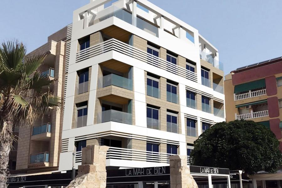 Апартаменты 125 кв. метров в Ла Мата в Торревьехе
