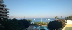 Студия на 1 линии лучшего пляжа в Кальпе с видом на море