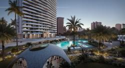 Восхитительные квартиры 90 кв. метров в Бенидорме