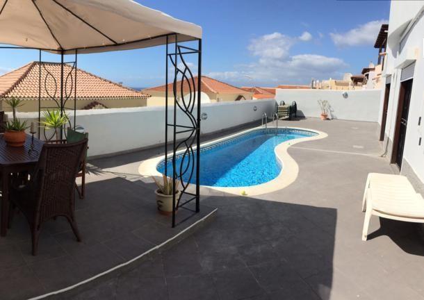 Вилла с большой террасой в Кальяо Сальвахе ID44