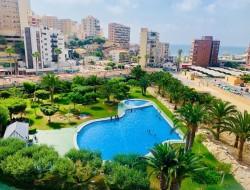 Красивая квартира 65 кв.метров с видом на море Бенидорм