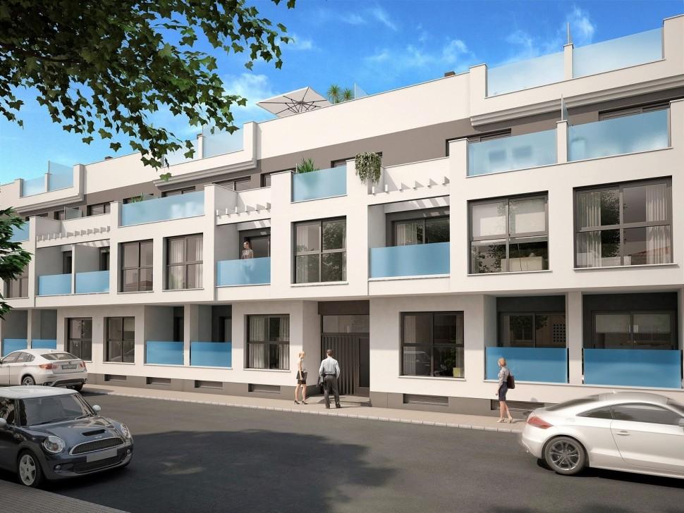 Апартаменты 55 кв. метров в Торревьехе