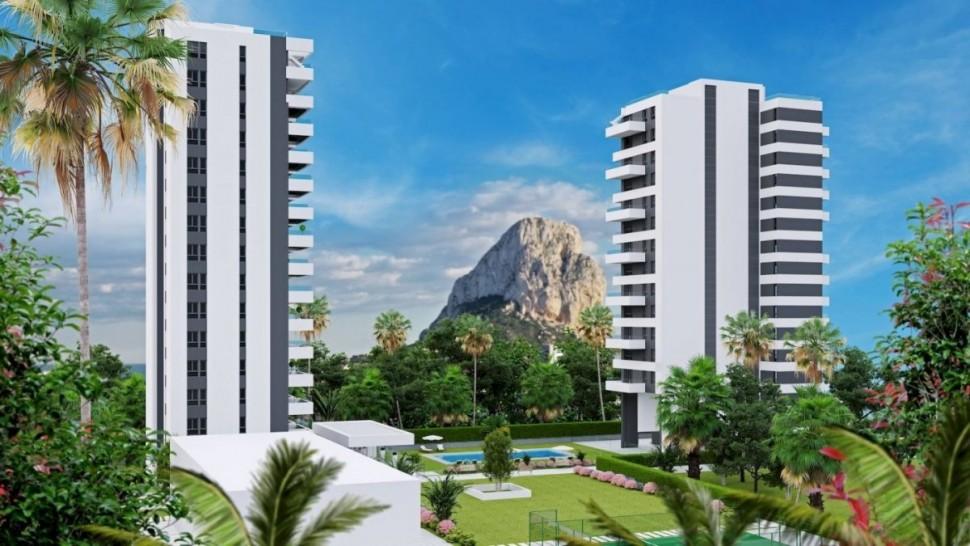 Апартаменты 89 кв.метров с видом на Лас Салинас, Кальпе