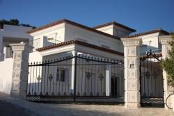 Красивая аристократическая вилла новой постройки
