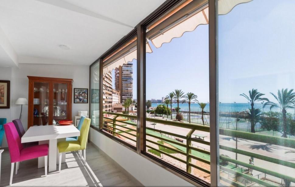 Квартира на берегу моря в Сан-Хуан-Плайя (Албуферета)