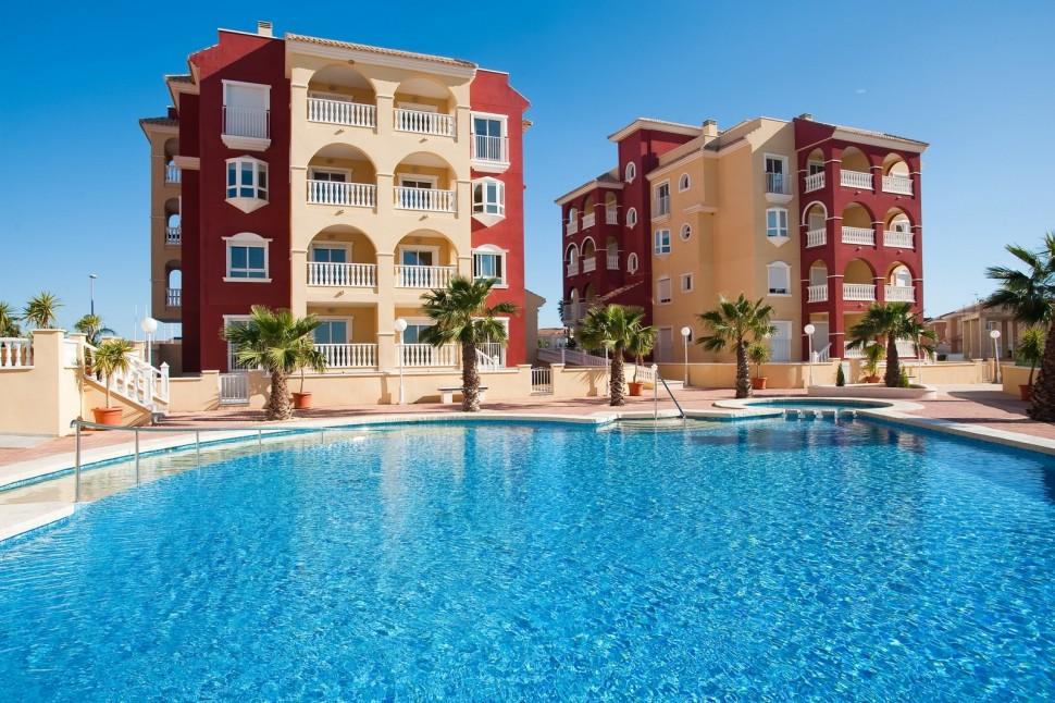 Квартиры в Лос Алькасарес рядом с пляжем