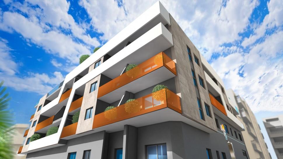 Модные апартаменты 61 кв. метр в Торревьехе