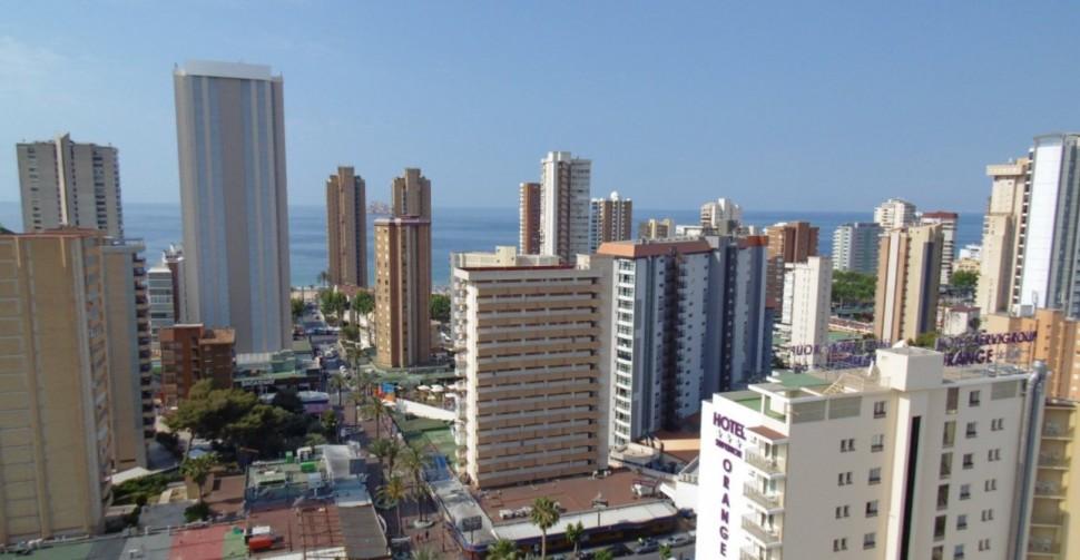 Квартира 48 кв.метров с видом на море в Бенидорме
