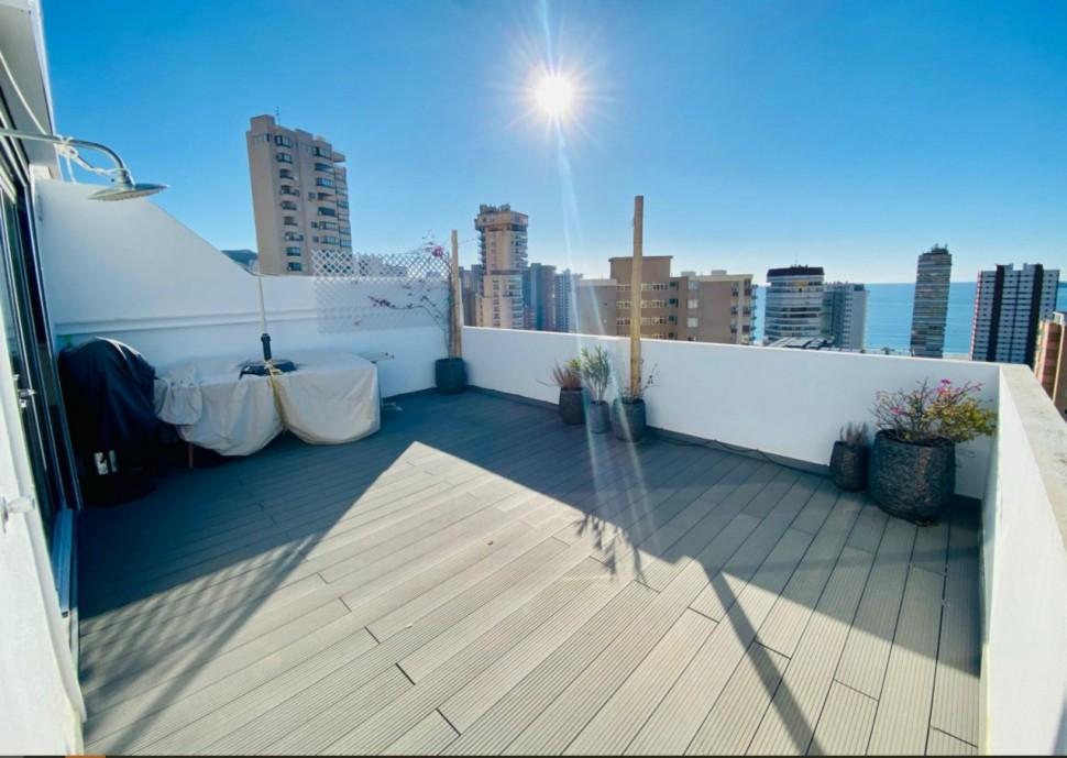 Пентхаус 72 кв.м. с невероятным видом в Леванте, Бенидорм