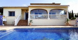 Вилла в средиземноморском стиле в Кальпе