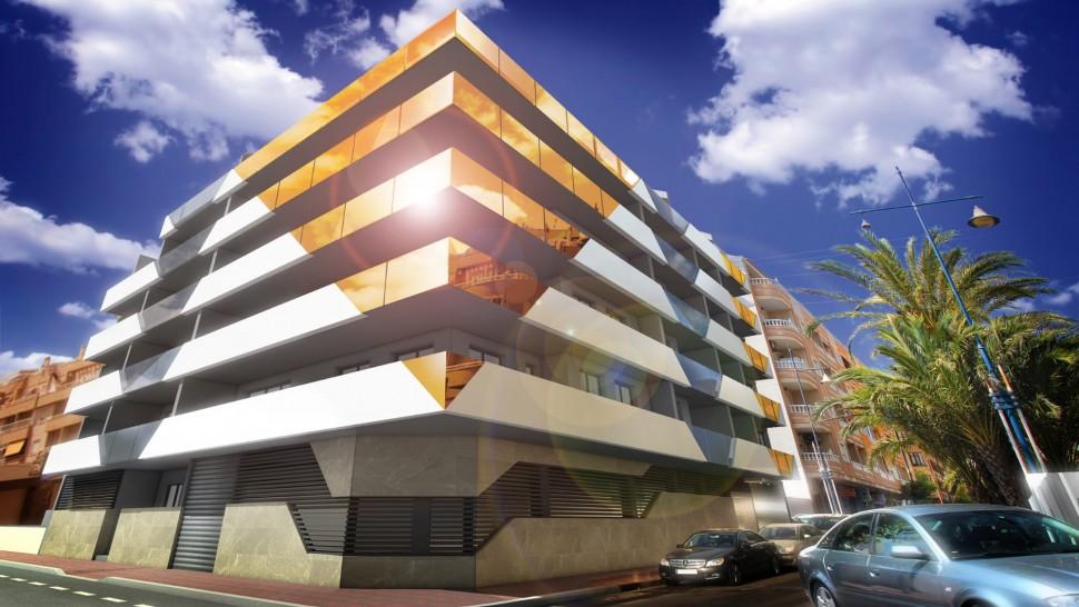 Апартаменты 128 кв. метров в центре Торревьехи