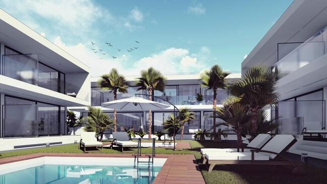 Стильные квартиры 92 кв. метра в La Manga del Mar Menor