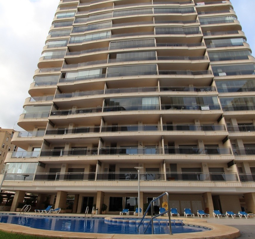 Просторная квартира 150 кв. метров с видом на море в Кальпе
