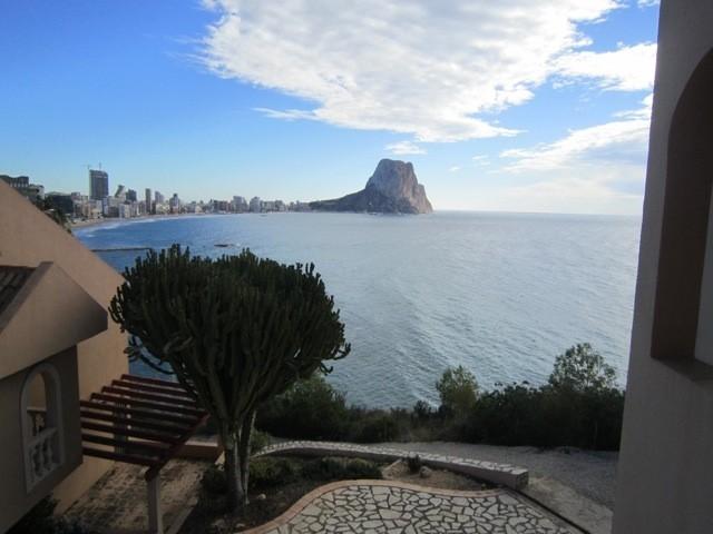 Бунгало с видом на море в Кальпе