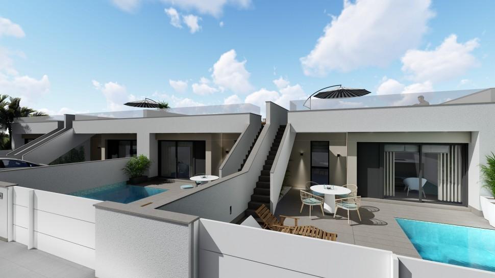 Дизайнерская вилла 130 кв.метров в Пилар де ла Орадада