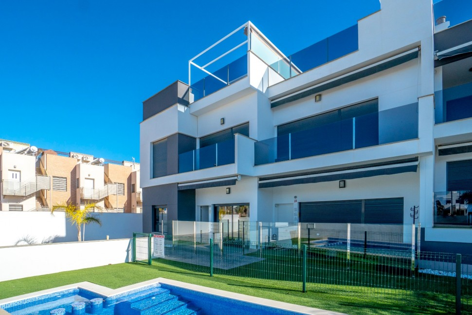 Красивая квартира на первом этаже в Торре де ла Орадада