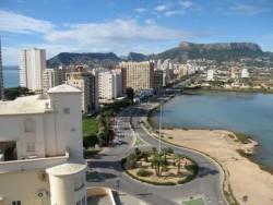 3-комнатные апартаменты в 150 м от пляжа в Кальпе