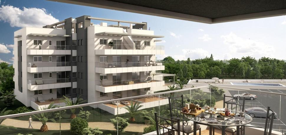 Восхитительные квартиры с большими террасами в Вилламартин