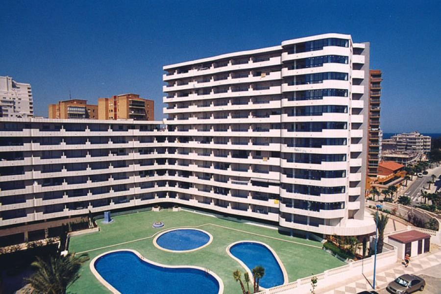 Апартаменты с 3 спальнями рядом с пляжем в Кальпе