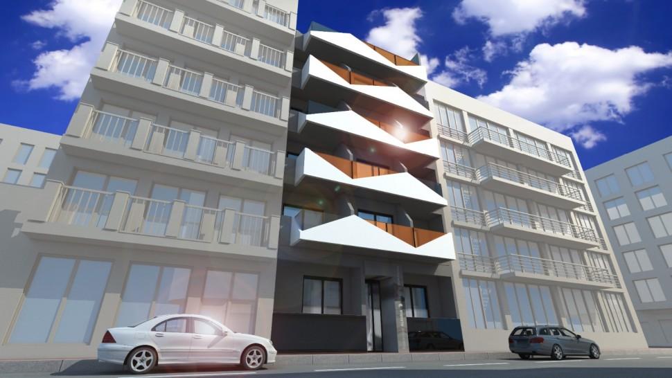 Современные апартаменты 61 кв.метр рядом с пляжем в Торревьехе