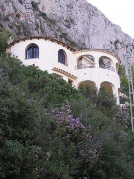 Уютный дом с шикарным видом на город Кальпе