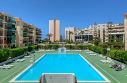 Квартира 85 кв.м. с видом на море в Лос Кристианос, Тенерифе
