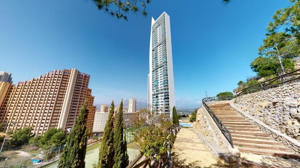 Роскошная квартира 112 кв.метров в Бенидорме, район Леванте