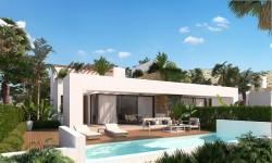 Новый двухквартирный дом 209 кв.м. Monfort del Cid, Аликанте