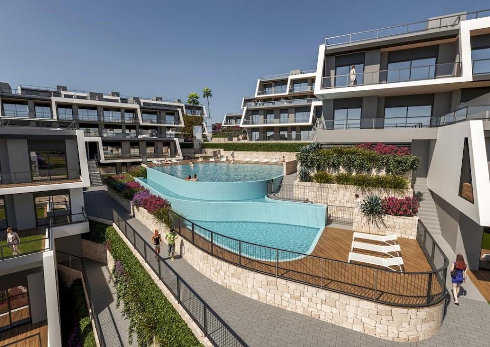 Новые апартаменты 83 кв.метра в Гран Алакант, Санта Пола