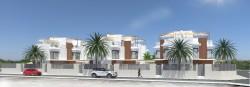 Новые двухэтажные виллы в Сан-Хавьер