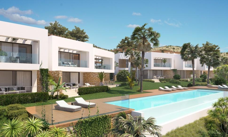 Апартаменты с индивидуальным солярием, Монфорте дель Сид, Аликанте